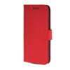 MOONCASE High quality Leather Side Flip Wallet Card Slot Pouch Stand Shell Back ЧЕХОЛДЛЯ Htc One M8 Red mooncase slim hard board leather side flip wallet stand pouch чехолдля htc one m9 red