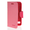 MOONCASE Classic cross pattern Leather Side Flip Wallet Card Pouch Stand Soft Shell Back чехол для Sony Xperia E1 Pink mooncase classic cross pattern leather side flip wallet card pouch stand soft shell чехол для motorola moto g hot pink