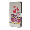 MOONCASE Owl style Leather Wallet Flip Card Slot Stand Pouch чехол для Microsoft Lumia 540 A15