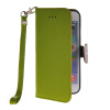 MOONCASE Litch Skin Leather Side Flip Wallet Card Slot Pouch Stand Shell Back ЧЕХОЛ ДЛЯ Apple iPhone 6 Plus Green floveme retro genuine leather wallet pouch for iphone 6s plus 6 plus etc coffee