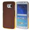MOONCASE Litchi Skin золото Chrome Hard Back чехол для Cover Samsung Galaxy S6 Edge браун mooncase litchi skin золото chrome hard back чехол для cover samsung galaxy s6 чёрный