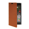 MOONCASE Slim Leather Side Flip Wallet Card Slot Pouch Stand Shell Back ЧЕХОЛ ДЛЯ Nokia Lumia 830 Brown mooncase slim leather side flip wallet card slot pouch stand shell back чехол для nokia lumia 830 white