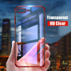 Luxury Transparent Phone Case For iPhone 7 iphone 6 case Electroplating Soft tpu Silicone Cover For iPhone X 6 6S 7 8 Plus 20x super zoom telephoto telescope phone lens cover case high end tripod for iphone 6 6s 7 plus for samsung s8 s8 plus