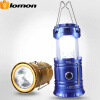 6+1 LED Solar Telescopic Mini Tent Camping Light 2 in 1 Portable Light USB Multifunctional Flashlight Rechargeable Outdoor Torchli