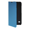 MOONCASE Slim Leather Side Flip Wallet Card Slot Pouch with Kickstand Shell Back чехол для Huawei Ascend Y550 Blue mooncase slim leather side flip wallet card slot pouch with kickstand shell back чехол для huawei ascend g7 purple