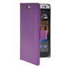 MOONCASE Slim Leather Flip Wallet Card Pouch with Kickstand Shell Back ЧЕХОЛ ДЛЯ HTC Desire 616 Purple htc desire 650