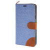MOONCASE ЧЕХОЛ ДЛЯ Samsung Galaxy Note 5 Leather Flip Wallet Card Holder with Kickstand Back Cover Blue luxury leather case for samsung galaxy note 5 magnet flip cover card holder wallet purse