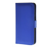 MOONCASE Smooth skin Leather Side Flip Wallet Card Holder Stand Pouch ЧЕХОЛДЛЯ HTC One M9 Blue mooncase slim hard board leather side flip wallet stand pouch чехолдля htc one m9 red