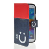 MOONCASE Leather Side Flip Wallet Card Slot Pouch Stand Shell Back ЧЕХОЛДЛЯ Samsung Galaxy S5 I9600 Red Blue mooncase flip wallet soft gel tpu silicone back shell чехолдля samsung galaxy s5 i9600 red