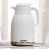 Ou Runzhe insulated pot 2L stainless steel button-type double-layer vacuum fat warm pot of white hot insulated double layer proof electric kettle anti dumping stainless steel kettles overheat protection