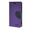 MOONCASE Splice Color Leather Wallet Flip Card Slot Bracket Back чехол для Sony Xperia Z4 Compact (Mini) Purple mooncase splice color leather wallet flip card slot bracket back чехол для sony xperia e4 black01
