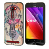 MOONCASE чехол для Asus Zenfone 2 ZE500CL ( 5.0 inch ) Pattern series Flexible Soft Gel TPU Silicone Skin Slim Durable Cover asus zenfone zoom zx551ml 128gb 2016 black