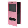 MOONCASE View Window Leather Side Flip Pouch Stand Shell Back ЧЕХОЛДЛЯ XiaoMi Red Rice Note (5.5 inch) Pink mooncase view window leather side flip pouch stand shell back чехолдля xiaomi red rice note 5 5 inch hot pink