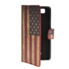 MOONCASE UK British Flag Leather Side Flip Wallet Card Slot Stand Pouch чехол для Wiko Rainbow / 4G suck uk