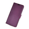 MOONCASE High quality Leather Side Flip Wallet Card Slot Pouch Stand Shell Back ЧЕХОЛДЛЯ Sony Xperia Z2 Purple high quality for sony xperia m2 aqua