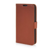 MOONCASE High quality Leather Wallet Flip Card Slot Pouch Stand Shell Back ЧЕХОЛ ДЛЯ LG G2 Mini Brown mooncase high quality leather wallet flip card slot pouch stand shell back чехол для lg l80 brown