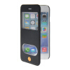 MOONCASE View Window Leather Side Flip Pouch Stand Shell Back ЧЕХОЛ ДЛЯ Apple iPhone 6 ( 4.7 inch ) Sapphire mooncase view window leather side flip pouch stand shell back чехол для apple iphone 4 4s blue