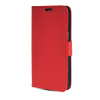 MOONCASE High quality Leather Side Flip Card Slot Pouch Stand Shell Back ЧЕХОЛДЛЯ Samsung Galaxy Grand 2 G7106 Red