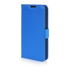 MOONCASE High quality Leather Wallet Flip Card Slot Pouch Stand Shell Back ЧЕХОЛДЛЯ LG G2 Mini Blue mooncase high quality leather wallet flip card slot pouch stand shell back чехолдля lg l80 brown