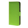 MOONCASE Smooth skin Leather Side Flip Wallet Card Holder Stand Pouch ЧЕХОЛДЛЯ HTC One M9 Green mooncase slim hard board leather side flip wallet stand pouch чехолдля htc one m9 red