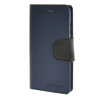 MOONCASE чехол для iPhone 6 (4.7) PU Leather Flip Wallet Card Slot Stand Back Cover Blue