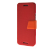 MOONCASE Ultra Slim Leather Side Flip Wallet Stand Pouch ЧЕХОЛДЛЯ HTC One M9 Red mooncase slim hard board leather side flip wallet stand pouch чехолдля htc one m9 red