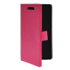 MOONCASE Slim Leather Flip Wallet Card Pouch with Kickstand Shell Back ЧЕХОЛДЛЯ HTC Desire 700 Hot pink htc desire 650