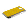 MOONCASE Luxury Chrome Plated Star Bling Back чехол для Samsung Galaxy Core Plus G3500 / Trend 3 G3502 Yellow mooncase hard chrome plated star bling back чехол для huawei ascend y550 green