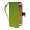 MOONCASE Litch Skin Leather Side Flip Wallet Card Slot Pouch Stand Shell Back ЧЕХОЛДЛЯ Samsung Galaxy Note 3 N9000 Green mooncase soft silicone gel side flip pouch hard shell back чехолдля samsung galaxy s6 black