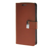 MOONCASE Synthetic PU Leather чехол для Wallet Flip Card Slot Holster Pouch Stand Samsung Galaxy S6 Edge Brown mooncase simple fashion leather чехол для wallet flip card slot holster pouch samsung galaxy s6 edge dark blue