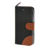 MOONCASE iPhone 5 / 5S , Leather Wallet Flip Card Holder Pouch Stand Back ЧЕХОЛ ДЛЯ Apple iPhone 5/ 5S Black чехол для iphone 5 5s se kenzo glossy exotic exoticip5n black