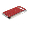 MOONCASE Luxury Chrome Plated Star Bling Back чехол для Samsung Galaxy Core Plus G3500 / Trend 3 G3502 Red диски helo he844 chrome plated r20