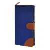 MOONCASE Xperia Z1 L39h , Leather Wallet Flip Card Holder Pouch Stand Back ЧЕХОЛ ДЛЯ Sony Xperia Z1 L39h Dark blue msd1306xs z1