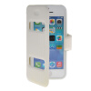 MOONCASE View Window Leather Side Flip Pouch Stand Shell Back ЧЕХОЛДЛЯ Apple iPhone 5C White mooncase view window leather side flip pouch stand shell back чехолдля apple iphone 4 4s white