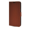 MOONCASE High quality Leather Side Flip Card Slot Pouch Stand Shell Back ЧЕХОЛДЛЯ Samsung Galaxy Grand 2 G7106 Brown ikki eiffel tower pattern flip open pu case w stand card slot for samsung galaxy grand 2 g7106