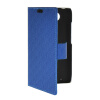 MOONCASE Slim Leather Side Flip Wallet Card Slot Pouch Stand Shell Back ЧЕХОЛ ДЛЯ Motorola Moto Droid Turbo XT1254 Blue mooncase classic cross pattern leather side flip wallet card pouch stand soft shell back чехол для motorola moto g black