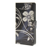 MOONCASE Flower style Leather Wallet Flip Card Slot Stand Pouch чехол для Huawei Ascend P8 lite A11 mooncase чехол для huawei ascend p8 wallet card slot with kickstand flip leather back white