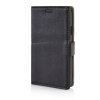 MOONCASE Litch Skin Leather Side Flip Wallet Card Slot Pouch Stand Shell Back ЧЕХОЛ ДЛЯ LG Tribute / LG Optimus F60 Black mooncase litch skin leather side flip wallet card slot pouch stand shell back чехол для lg g3 stylus d690 white