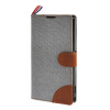 MOONCASE Xperia Z1 L39h , Leather Wallet Flip Card Holder Pouch Stand Back ЧЕХОЛ ДЛЯ Sony Xperia Z1 L39h Grey xydyy new 4designs bear monkey pig 10cm hand plush coin purse wallet pouch women lady s coin bags pouch holder bag handbag