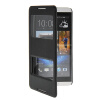 MOONCASE View Window Leather Side Flip Pouch Stand Shell Back ЧЕХОЛДЛЯ Htc Desire 816 Black mooncase view window leather wallet flip stand pouch чехол для htc desire 620 black