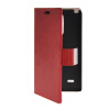 MOONCASE Slim Leather Side Flip Wallet Card Slot Pouch with Kickstand Shell Back чехол для LG G3 Stylus / D690 Red mooncase litch skin leather side flip wallet card slot pouch stand shell back чехолдля lg g3 stylus d690 white