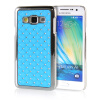 MOONCASE Hard Chrome Plated Star Bling Back ЧЕХОЛ ДЛЯ Samsung Galaxy A3 Azure mooncase litchi skin золото chrome hard back чехол для cover samsung galaxy s6 edge красный
