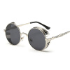 FEIDU мода Steampunk Goggles Sunglasses Women Men Brand Designer ретро Side Visor Sun Round Glasses Women Gafas Oculos De Sol 2016 new fashion sunglasses women brand designer sun glasses vintage eyewear
