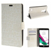 MOONCASE LG G4 Beat G4S ЧЕХОЛ ДЛЯ Leather Flip Wallet Card Slot Bracket Back White смартфоны lg смартфон h736 g4 s white
