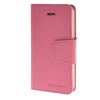 MOONCASE чехол для iPhone 5G / 5S PU Leather Flip Wallet Card Slot Stand Back Cover Pink mooncase premium pu flip leather wallet card pouch back чехол для cover apple iphone 6 4 7 красный