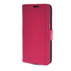 MOONCASE High quality Leather Side Flip Card Slot Pouch Stand Shell Back ЧЕХОЛДЛЯ Samsung Galaxy Grand 2 G7106 Hot pink mooncase high quality leather side flip stand shell back чехолдля samsung galaxy note 3 neo n7505 hot pink