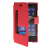 MOONCASE View Window Leather Side Flip Pouch Stand Shell Back ЧЕХОЛДЛЯ Nokia Lumia 920 Red