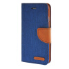 MOONCASE iPhone 6 4.7 , Leather Flip Wallet Card Holder Pouch Stand Back ЧЕХОЛ ДЛЯ Apple iPhone 6 ( 4.7 inch ) Dark blue wallet leather pouch for iphone 6s 6 samsung e5 htc m8 size 144 x 75mm blue bowknot