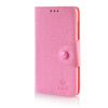 MOONCASE Cross pattern Leather Side Flip Wallet Card Slot Pouch Stand Shell Back ЧЕХОЛ ДЛЯ Microsoft Lumia 535 Pink mooncase classic cross pattern leather side flip wallet card slot pouch stand shell back чехол для htc desire 816 hot pink