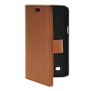MOONCASE Slim Leather Flip Wallet Card Pouch with Kickstand Shell Back ЧЕХОЛДЛЯ Samsung Galaxy Core Lite 4G G3586V Brown suunto core brushed steel brown leather